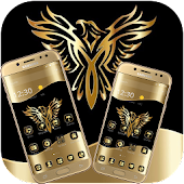 Gold Luxury Eagle Theme