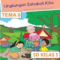 BSE SD kelas 5 tema 8 icon