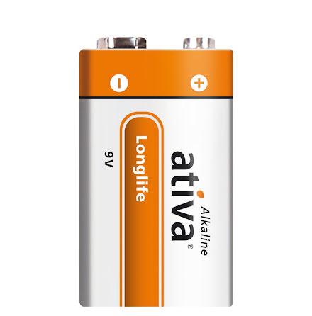 Batteri Ativa E/9V        3/fp