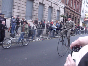 Photo: Penny-farthing.