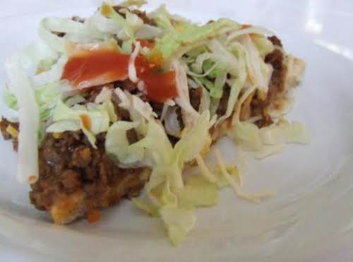 "Taco Pizza ""I made this tonight for dinner and it was delicious...."