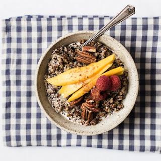 Six Ingredient Breakfast Quinoa.