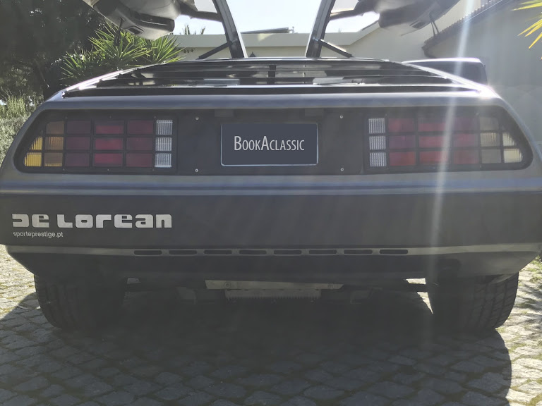 Delorean DMC-12 Hire Lisboa