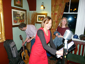 Photo: Dogwood Rose assembling themselves for action at The Rambler, Edale.
