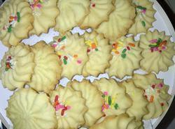 Whipped Heavenly Shortbread Cookies By Freda Recipe