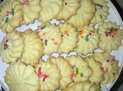 Melt In Your Mouth, Light Cookies.  Tip: Be Sure To Not Let Them Brown.
