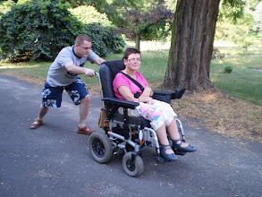 Photo: 14 VII 2010 roku -  chyba jednak  wózek