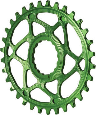 Absolute Black Spiderless Cinch Direct Mount Oval BOOST Chainring alternate image 1