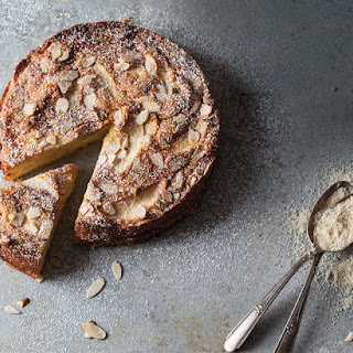 French Apple-Almond Cake.