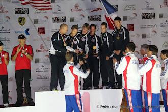 Photo: Remise de l'Epée au VR4 Américain vainqueur, WPC 2012