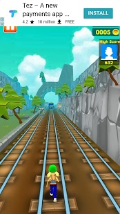 Super Subway Run Fun - náhled