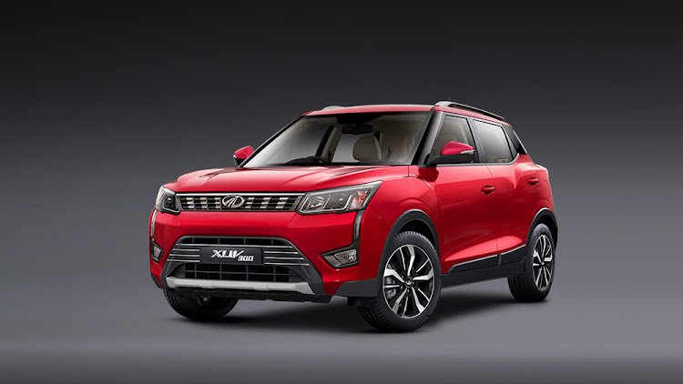 Modern styling gives the new XUV300 good road appeal. Picture: SUPPLIED