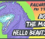 The Moths, Boxer and Hello Beautiful live at Railways Cafe : Railways Cafe
