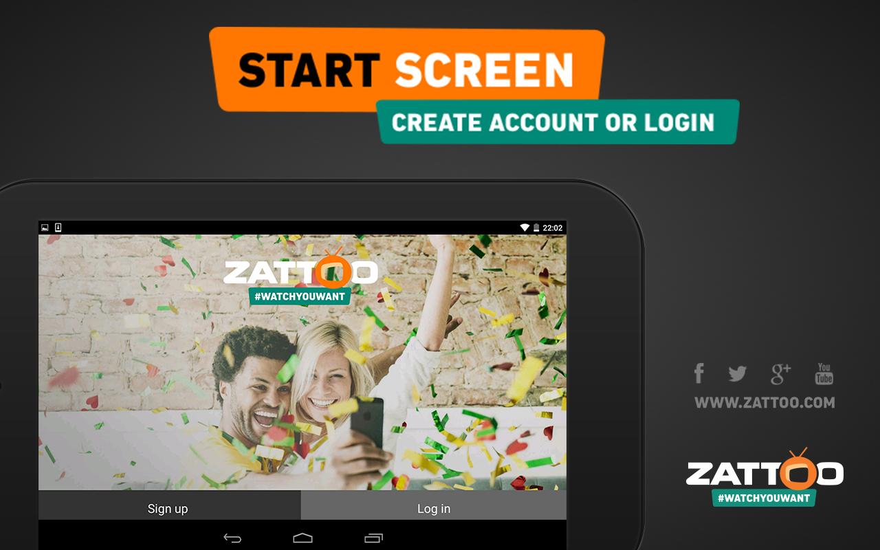 Zattoo TV App Live Television - screenshot