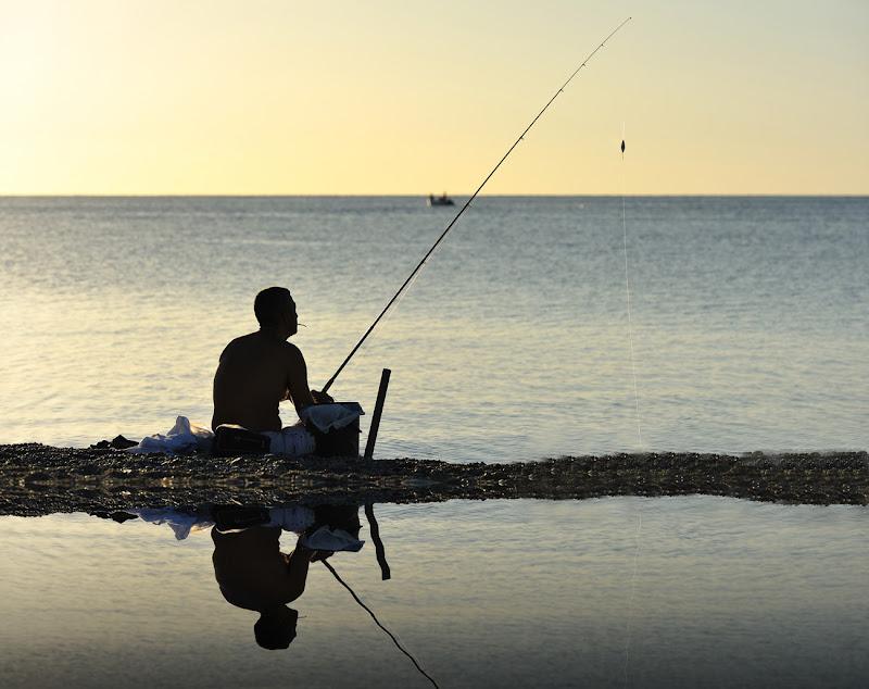 Il pescatore... di leonardo valeriano