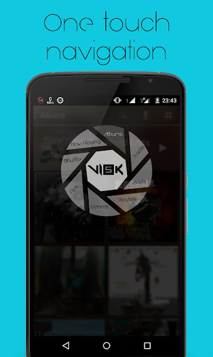 VISK Music Video Player