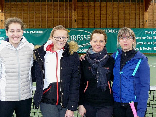 09/04/2018 - Raquettes FFT et Demoiselles de l'Eure en lice !