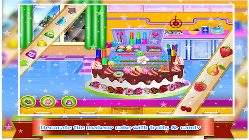 Cosmetic Box Cake Cooking image | 8