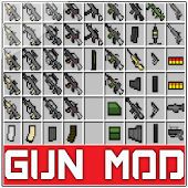 Guns mod for Minecraft