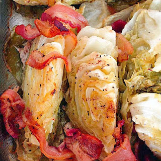 Baked Cabbage.