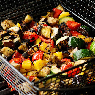 Easy Grilled Vegetables.