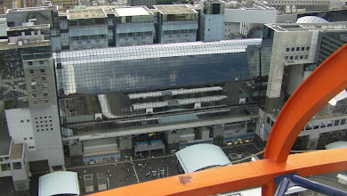 Photo: Kyoto station from Kyoto tower