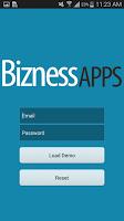 Screenshot of Bizness Apps Preview App