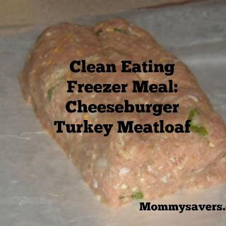 Clean Eating Cheeseburger Turkey Meatloaf