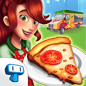 Pizza Truck California - Fast Food Cooking Game