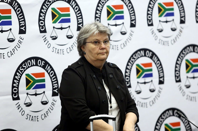 Barbara Hogan will testify about state capture for a third day on Wednesday.