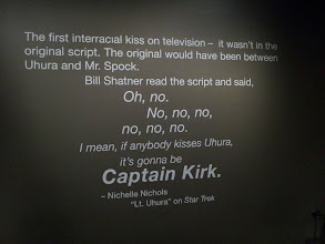 Photo: Star Trek Story on the wall at the EMP in Seattle