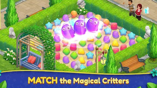 Screenshot 2 Royal Garden Tales - Match 3 Puzzle Decoration 0.8.3-DEV APK MOD