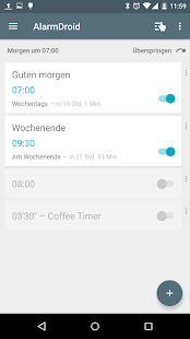 AlarmDroid (Wecker) Screenshot