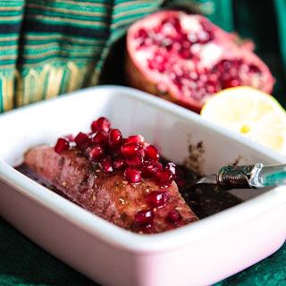 5 Minute Salmon Sauce – Za'atar & Pomegranate.