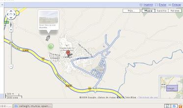 Photo: el caprichoso paseo del opel Astra negro de Google Street View por Cehegín >