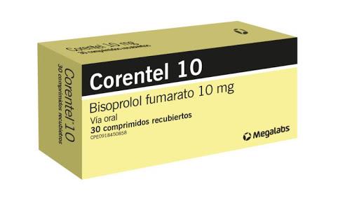 Bisoprolol Corentel 10Mg 30Comprimidos Megalabs