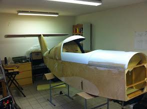Photo: ça fait plaisir! reste à trouver une pièce plus grande pour les ailes...