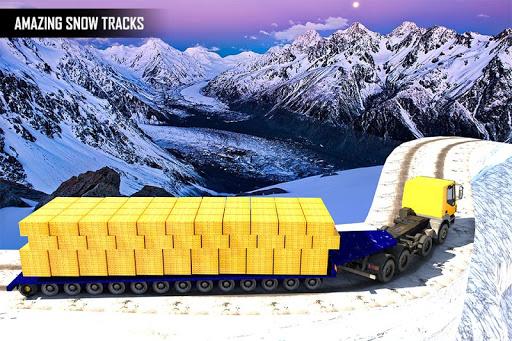 Gold Transporter Truck Driver 2019 : Uphill Driver screenshot 3