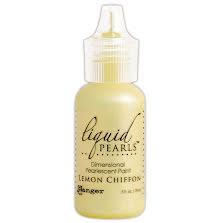 Liquid Pearls Dimensional Pearlescent 18ml - Lemon Chiffon