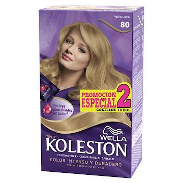 Tinte Wella Koleston   Rubio Claro N° 80 X 1Und Promocion Especial 2 Tub