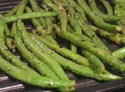 Grilled Green Beans Recipe