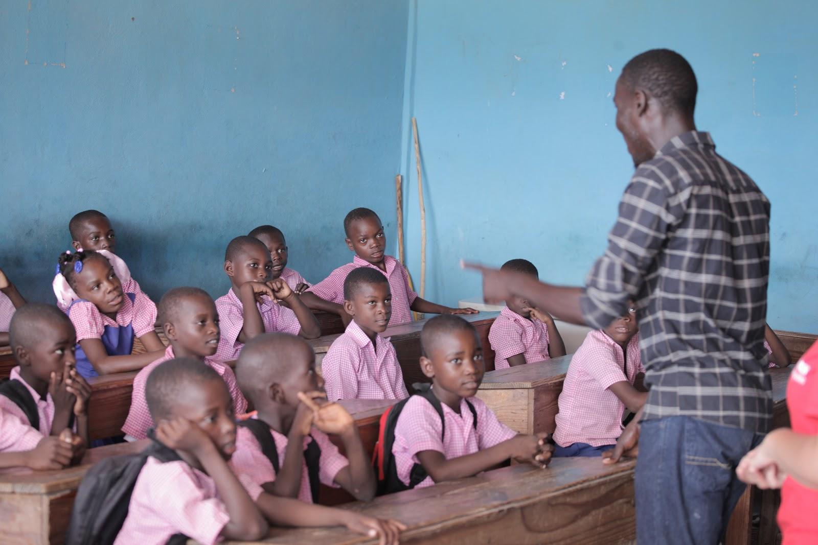Vzdělání je budoucnost Haiti, tvrdí Stanley