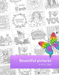 colorfil adult coloring book screenshot thumbnail - Coloring Book App For Adults