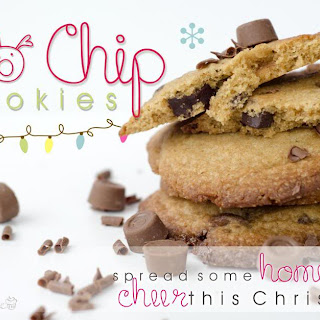 Rolo Chip Christmas Cookies
