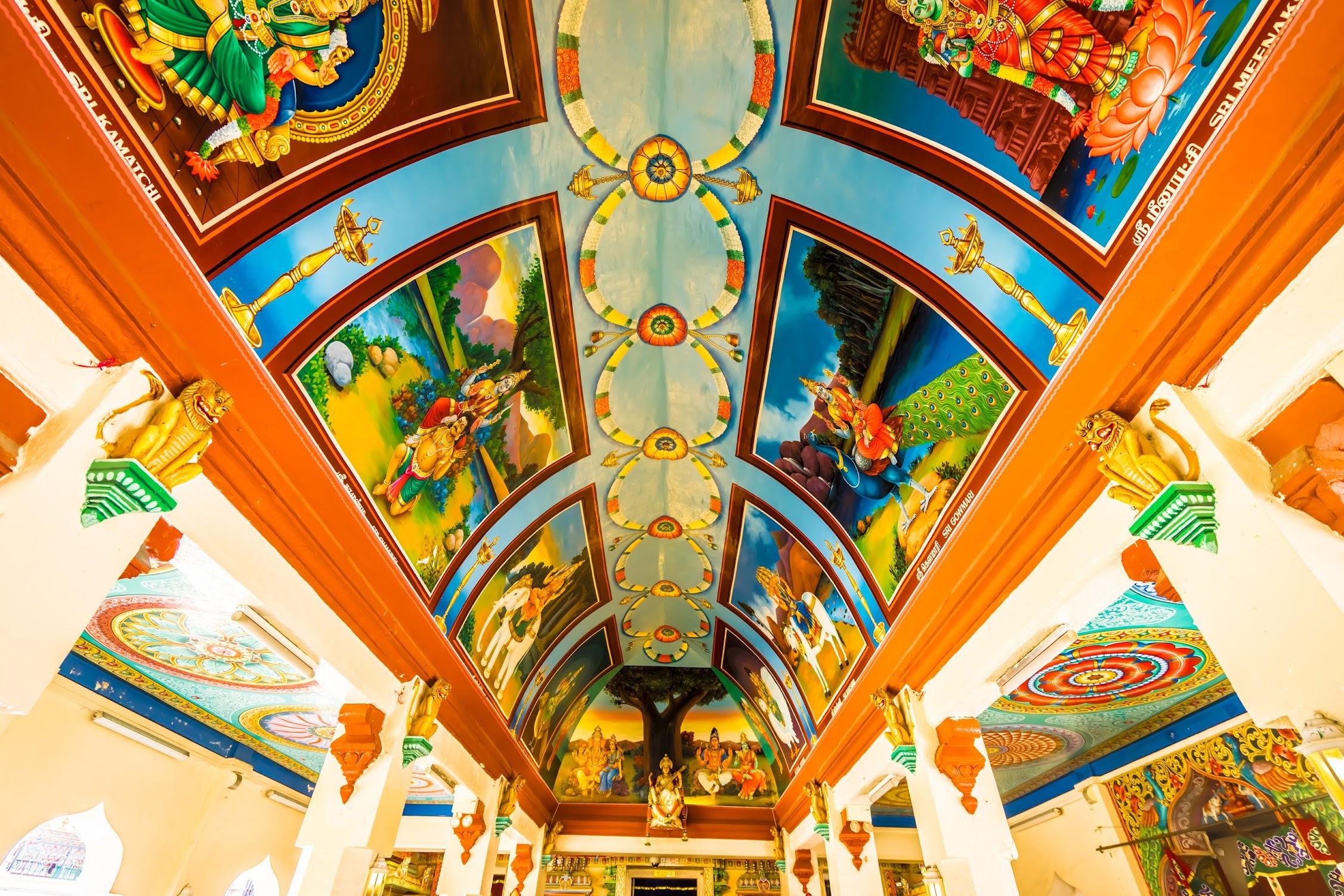 シンガポール スリ・マリアマン寺院2