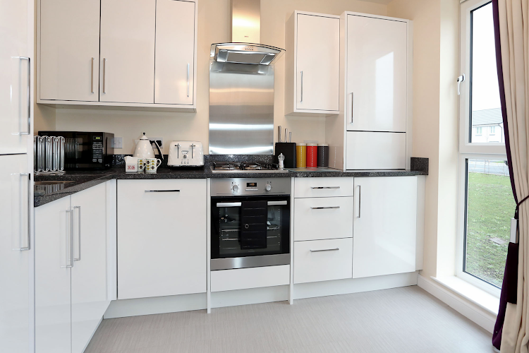 Equipped Kitchen at Luxury Aberdeen Airport Accommodation