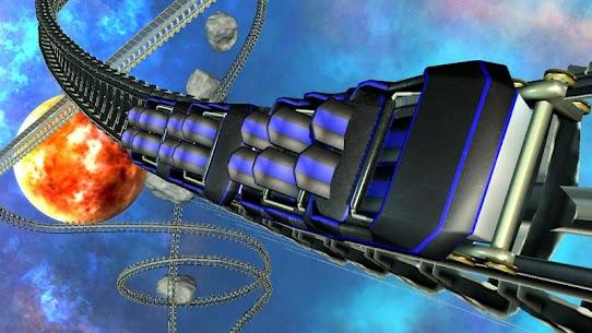 Intergalactic Space Virtual Reality Roller Coaster 1