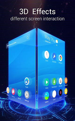 U Launcher 3D u2013 Live Wallpaper, Free Themes, Speed 2.3.6 screenshots 1