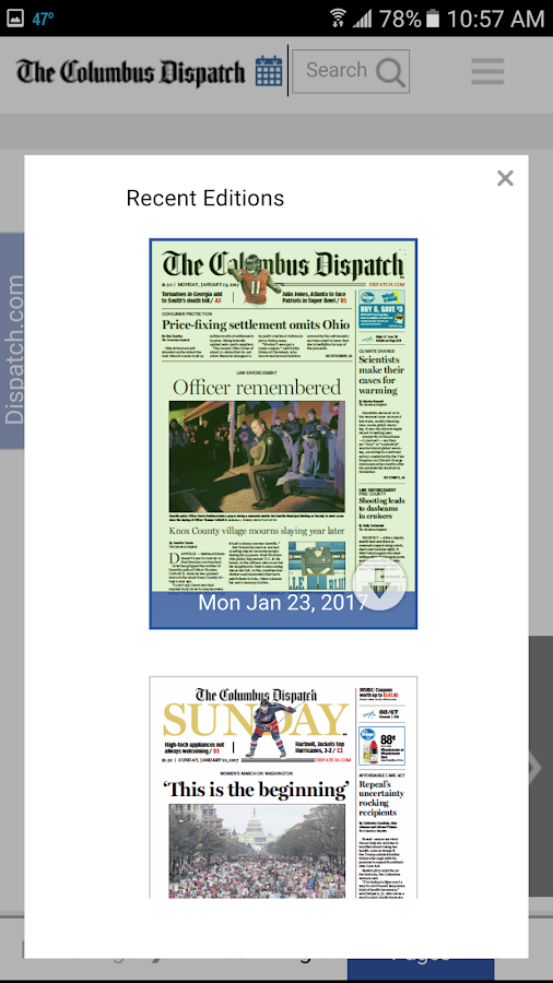 The Columbus Dispatch- Android- screenshot