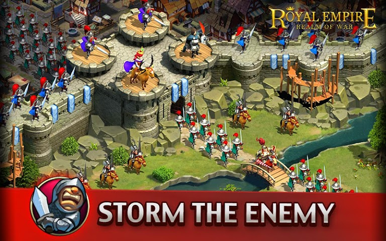 android Royal Empire: Realm of War Screenshot 1